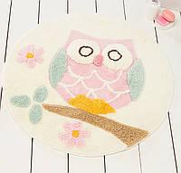 Коврик 90х90 Chilai Home Owl Ecru