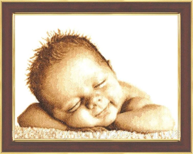 """Набор для вышивания крестом ТМ Золотое Руно """"Мамина радость. Свет жизни """" СВ-013"""