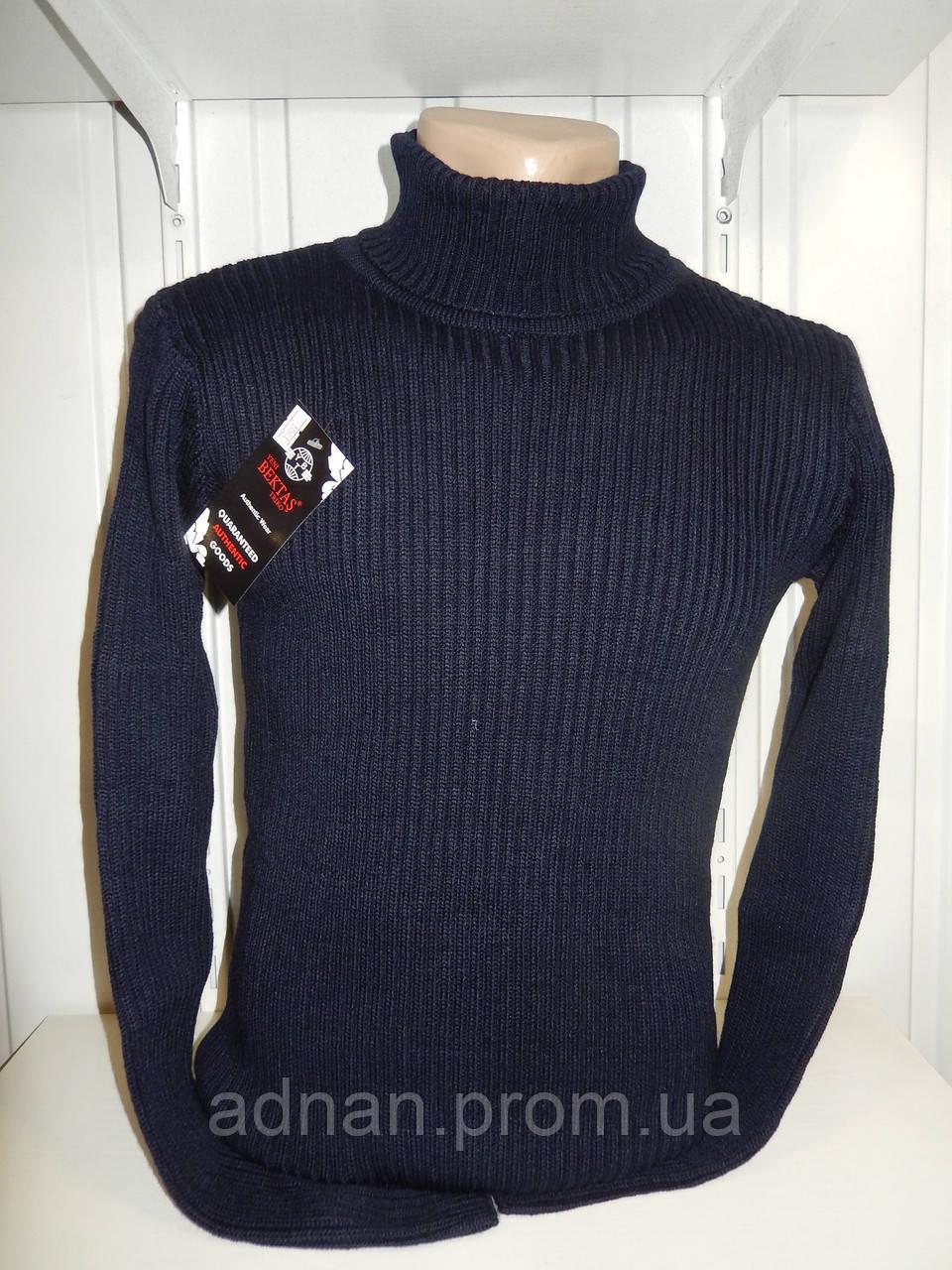 Свитер зимний, гольф BEKTAS модель №1901 001/ купить оптом свитер зимний