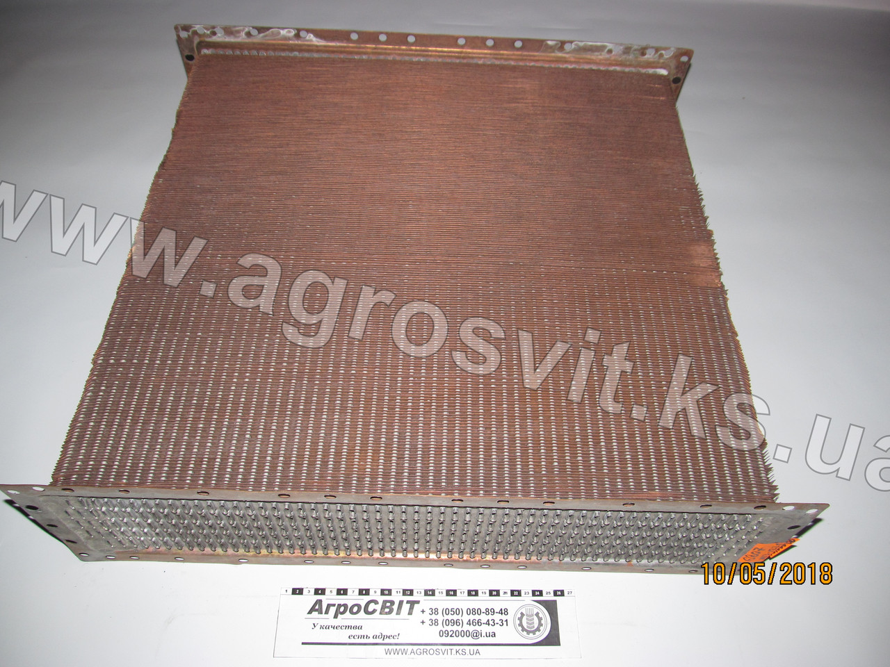 Сердцевина радиатора МТЗ-1221-1523 (Оренбург) 5-и рядная, кат. № 1520-1301.020Б-01