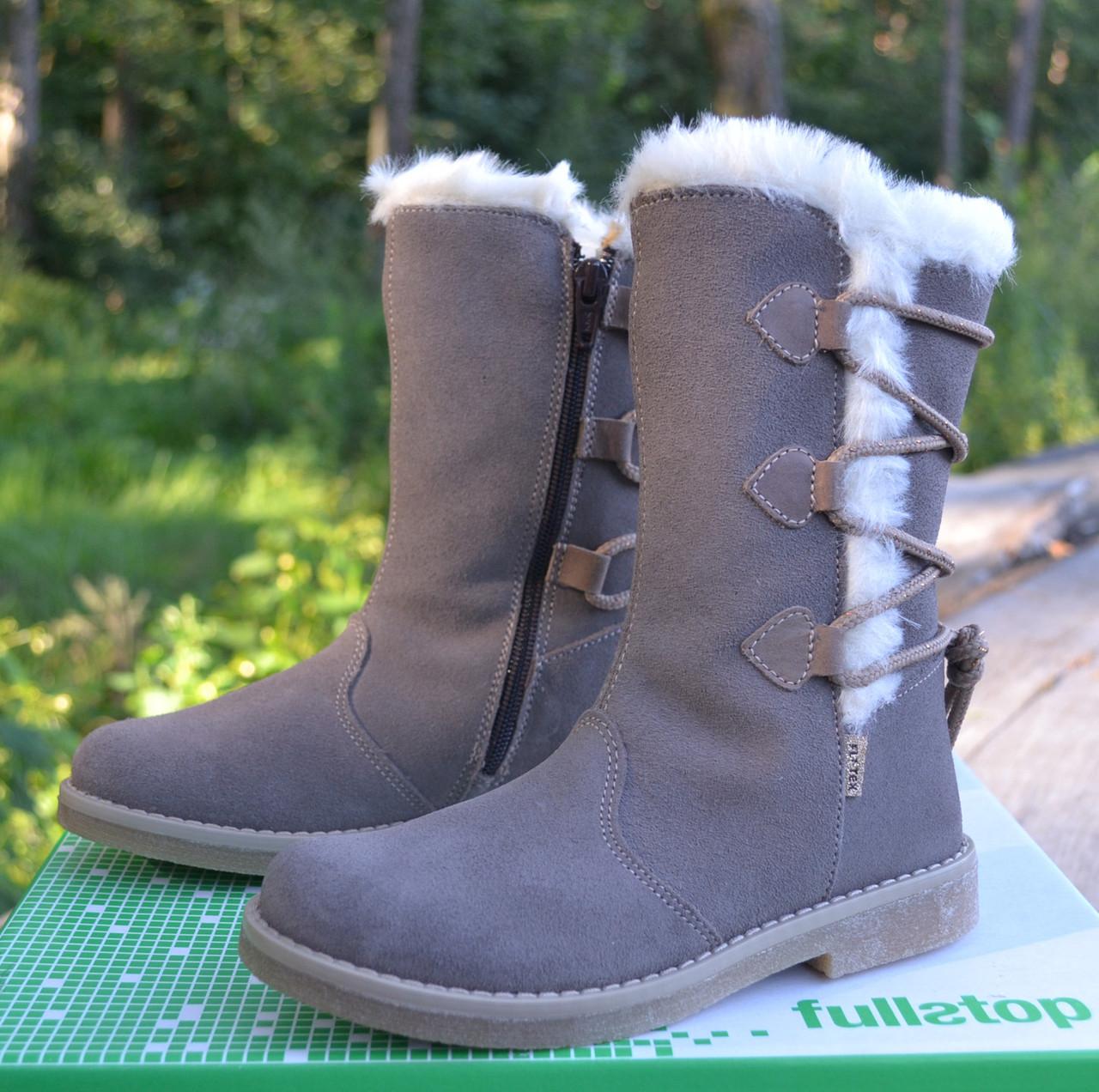 a7cb18414ac7 Утепленные сапожки Fullstop р 30. Интернет-магазин брендовой обуви