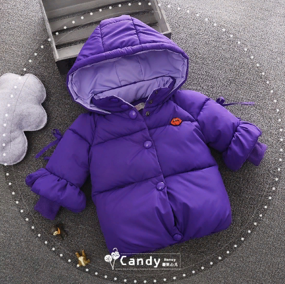 Куртка зимняя Волшебница (фиол) 90