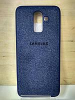 Чехол Textile Case Blue Samsung Galaxy J8 2018 (J810)