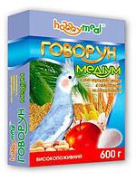Корм Хобби Мил Говорун Медиум (для средних попугаев), 600 г. O.L.KAR