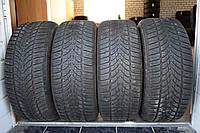 Шины б/у 225/55 R16 Dunlop ЗИМА, 2012 г., комплект