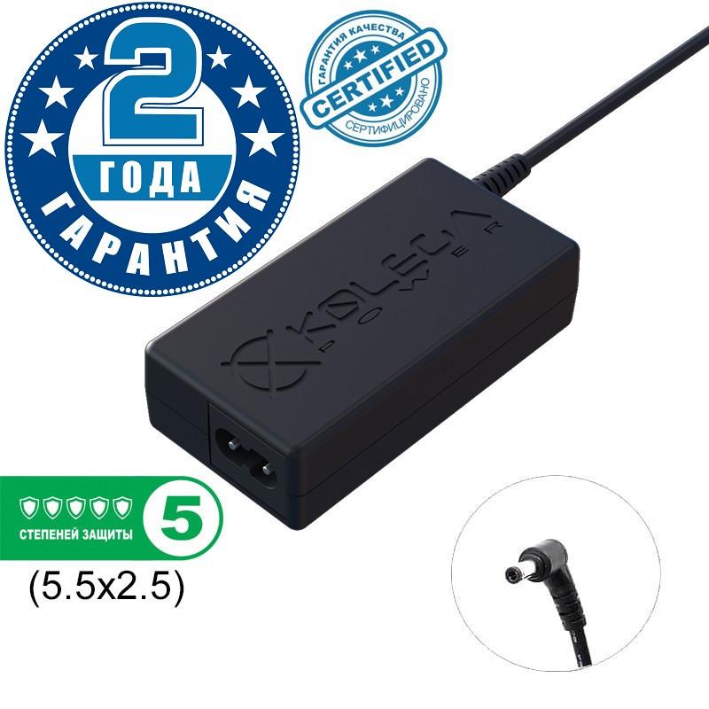 Блок питания Kolega-Power для ноутбука Asus 19V 1.75A 33W 5.5x2.5 (Гарантия 24 мес)
