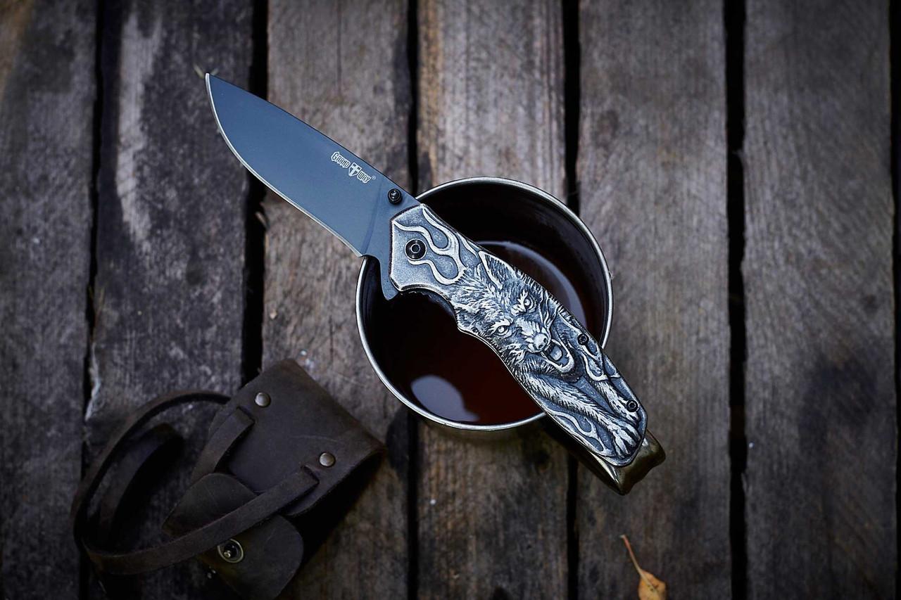 Нож складной WK 04008