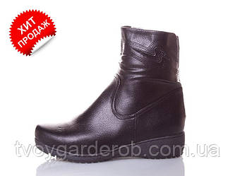 Ботинки женские зимние р 42-44(код 4369-00)