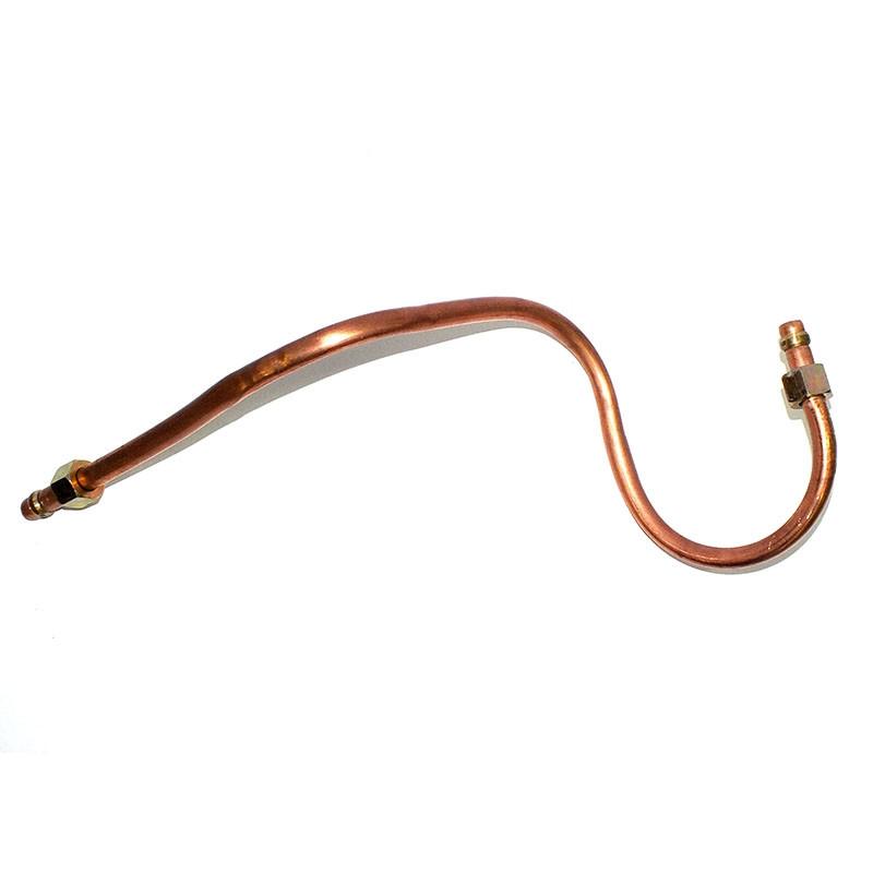 Трубка 1-цилиндрового компрессора ЕВРО-2 (медная от компрессора к охладителю)