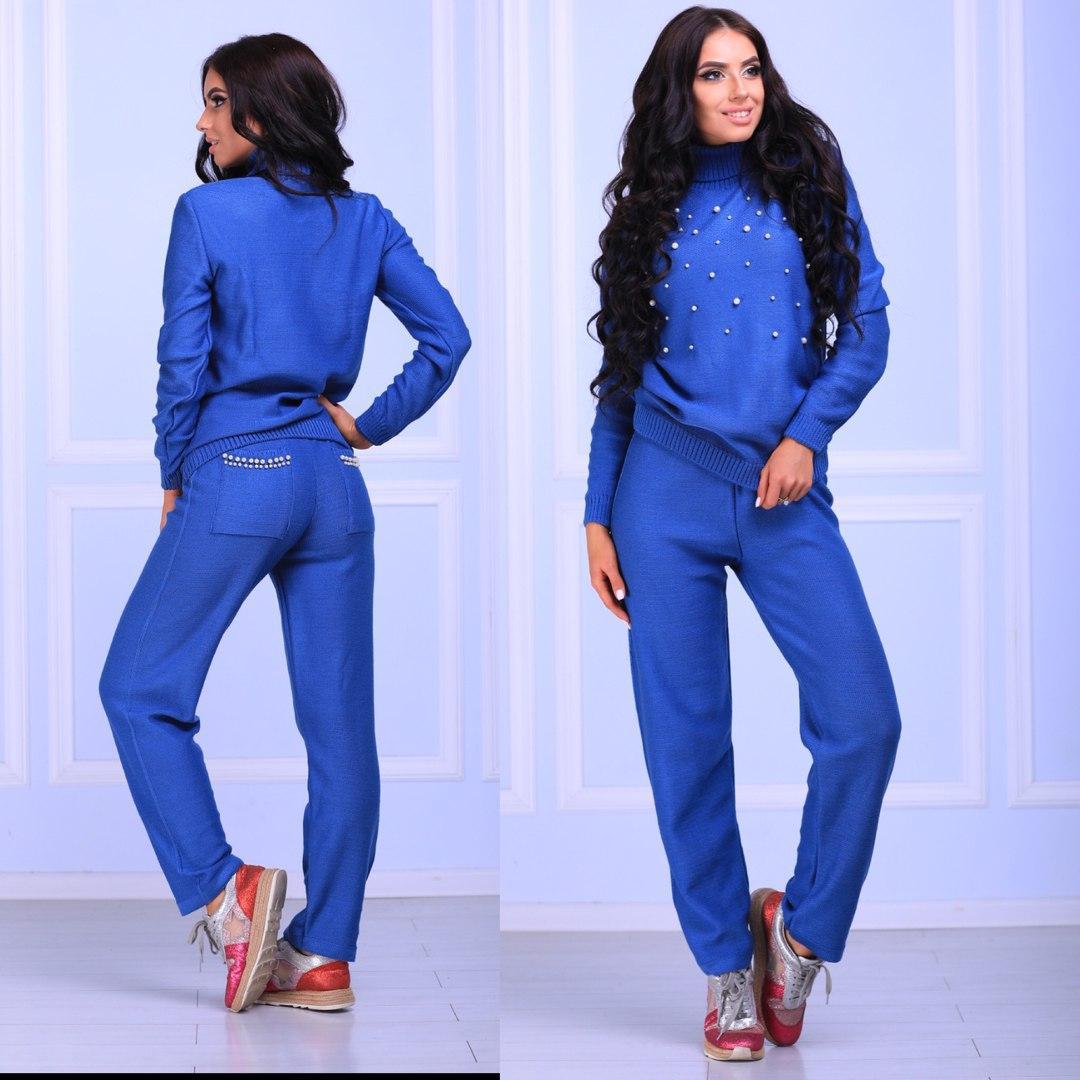 4731c8bd Женский спортивный костюм «Бусинка»цвет электрик беж синий серый черный