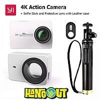 Xiaomi Yi 4K Action Camera + Selfie Stick + Protectiv Case