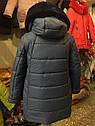 """ХИТ! Детское зимнее пальто с мутоном """"Сердечки"""" Размеры 32- 38, фото 8"""