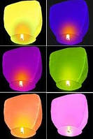 Небесный фонарик Купол Премиум качество (летающий горящий шар,светящийся шарик, Китайский воздушный бумажный)