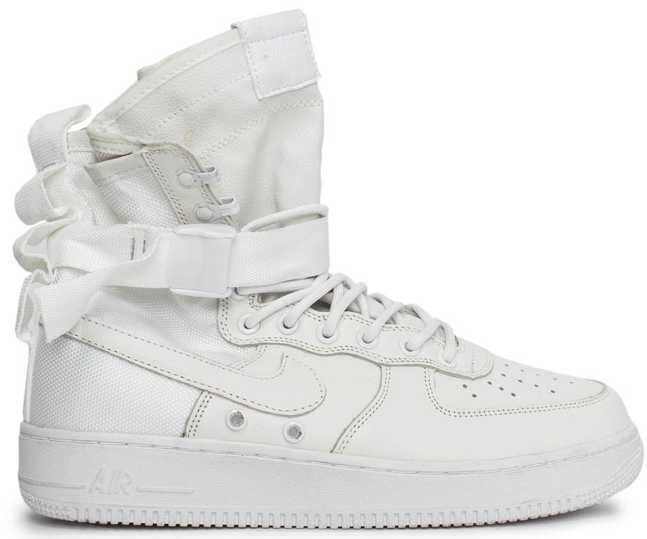 Мужские кроссовки Nike Special Field Air Force 1 'White' (Найк) белые