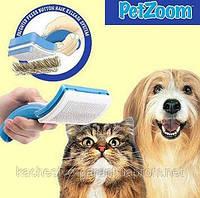 Щетка-триммер Petzoom сделает вашего любимца красивее, здоровее и опрятнее.