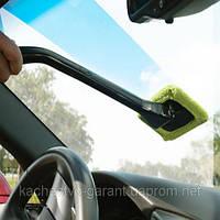 Швабра для лобового стекла автомобиля и для мойки окон и  зеркал