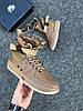 Мужские кроссовки Nike Special Field Air Force 1 'Brown' (Найк) коричневые, фото 3