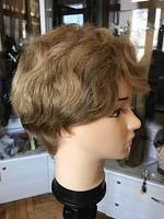 Распродажа!!! Дешевле закупки. Женский волнистый парик из светлых натуральных волос, фото 1