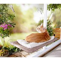 ОКОННАЯ КРОВАТЬ ДЛЯ КОТА SUNNY SEAT WINDOW MOUNTED CAT BED купить в Украине
