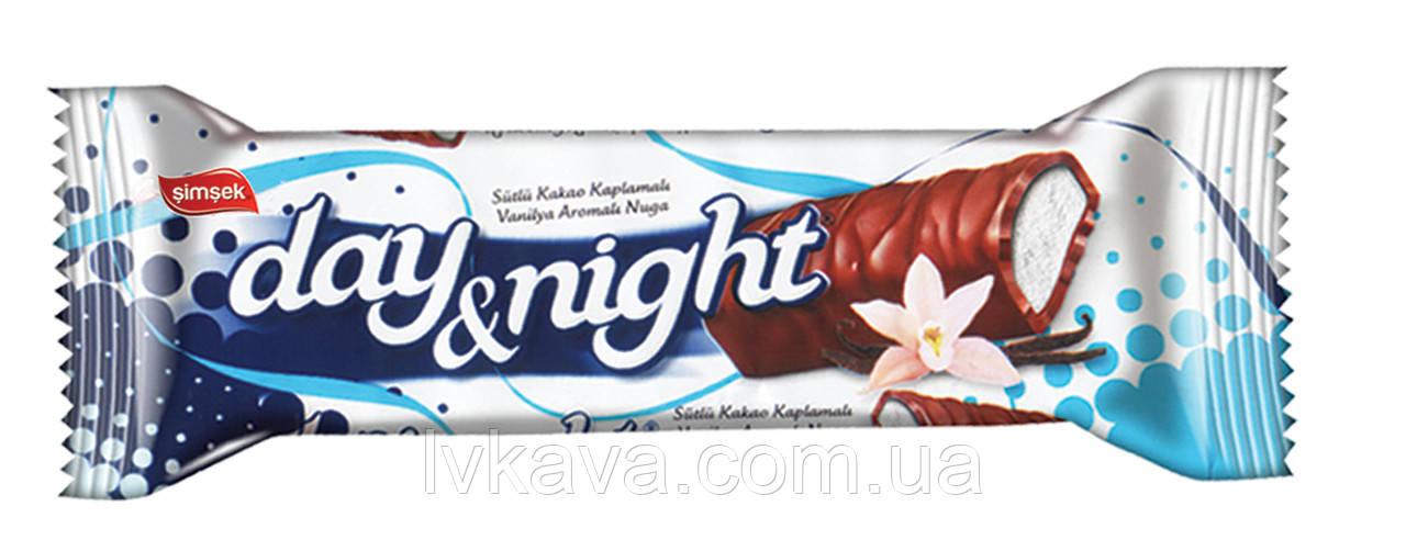 Шоколадный батончик Day Night with Vanillin  Simsek , 20 гр