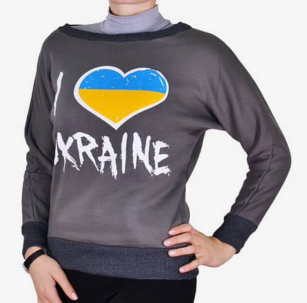 Кофта теплая Ukraine ( Турция ) (M113/04)   3 шт., фото 2