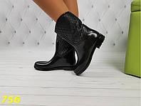 Полусапожки ботинки резиновые непромокаемые, фото 1