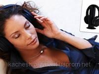Беспроводные наушники Wireless Headphone с FM для PC, TV, MP3 5 в 1, отменное качество звучания