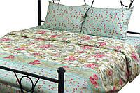 Комплект постельного белья Руно Евро Asian design микрофибра арт.845.52Asian design
