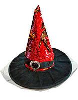 Шляпа Ведьмы с пауками, колпак ведьмы  - аксессуар для вашего образа