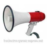 Мегафон рупор громкоговоритель переносной SD-10SH-B 25 Вт со съемным микрофоном