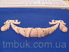 Горизонтальный декор 30 деревянная накладка - 200х95 мм, фото 3