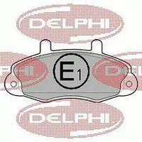 """Передние тормозные колодки (комплект) колесо 14"""" Ford Transit 1994-2000 DELPHI LP0766"""