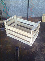 Ящики шпоновые деревянные для яблок сшитый на станке CORALLI в Гнивани
