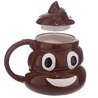 Кружка  GeekLand керамическая Poop Shaped Mug