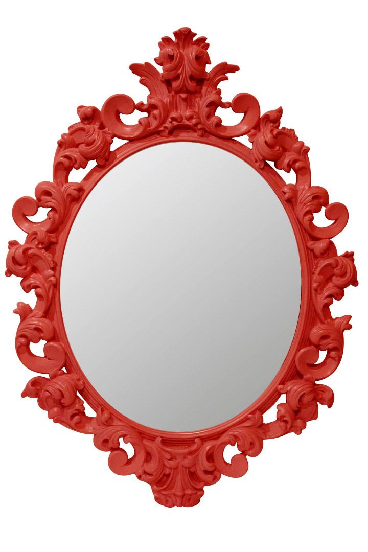 Зеркало в раме PrincesS «rich red»