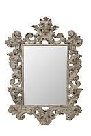 Зеркало в белой раме Prince «white vintage», фото 1