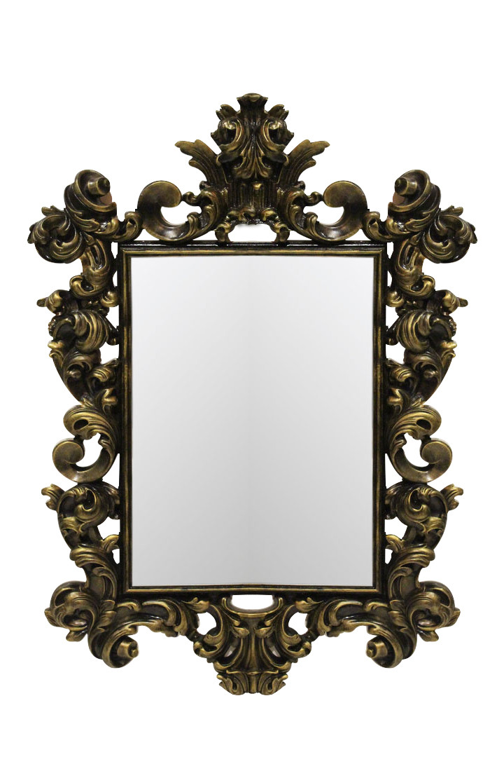 Зеркало в раме Prince «black gold»