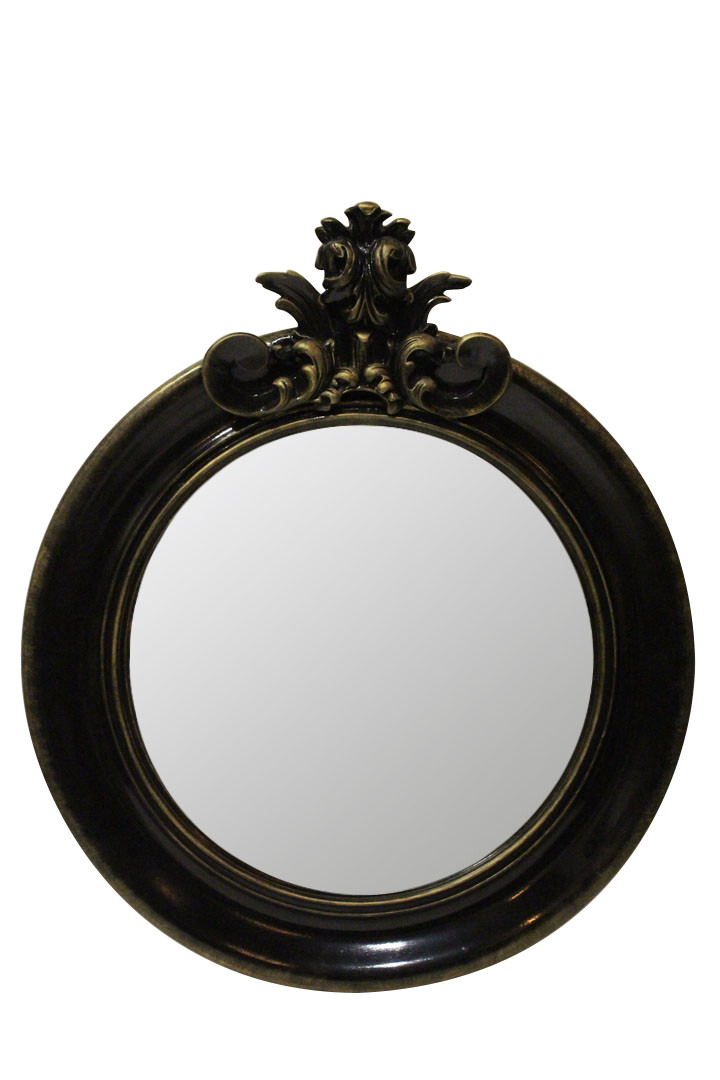 Зеркало Ar deko rotondo «black gold»
