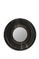 Зеркало в круглой раме DiscO «black style», фото 1