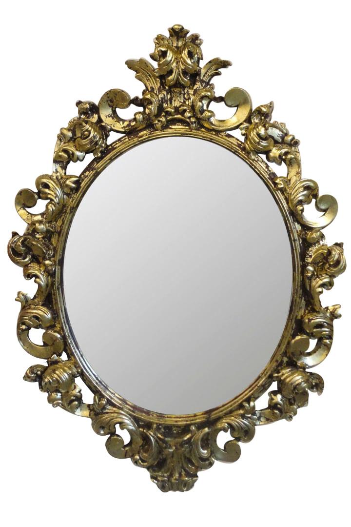 Зеркало в раме PrincesS «gold port»