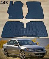 Коврики на Subaru Legacy (BL, BP) '03-09. Автоковрики EVA, фото 1