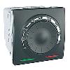 Терморегулятор для теплого пола графит Schneider Electric - Unica (mgu3.503.12)
