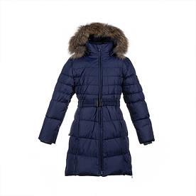 Зимнее пальто-пуховик для девочки 8-17 лет р. 128-170 YASMINE ТМ HUPPA 12020055-70086