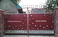 Кованые ворота 7772, фото 1