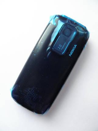 Корпус Nokia 5130 синий клавиатурой class AAA, фото 2