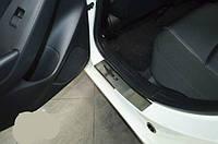 Накладки на пороги Mazda 3 III 2013+