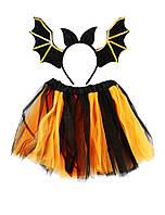 """Карнавальный детский костюм """"Летучая мышь""""  - карнавальный костюм для девочки"""