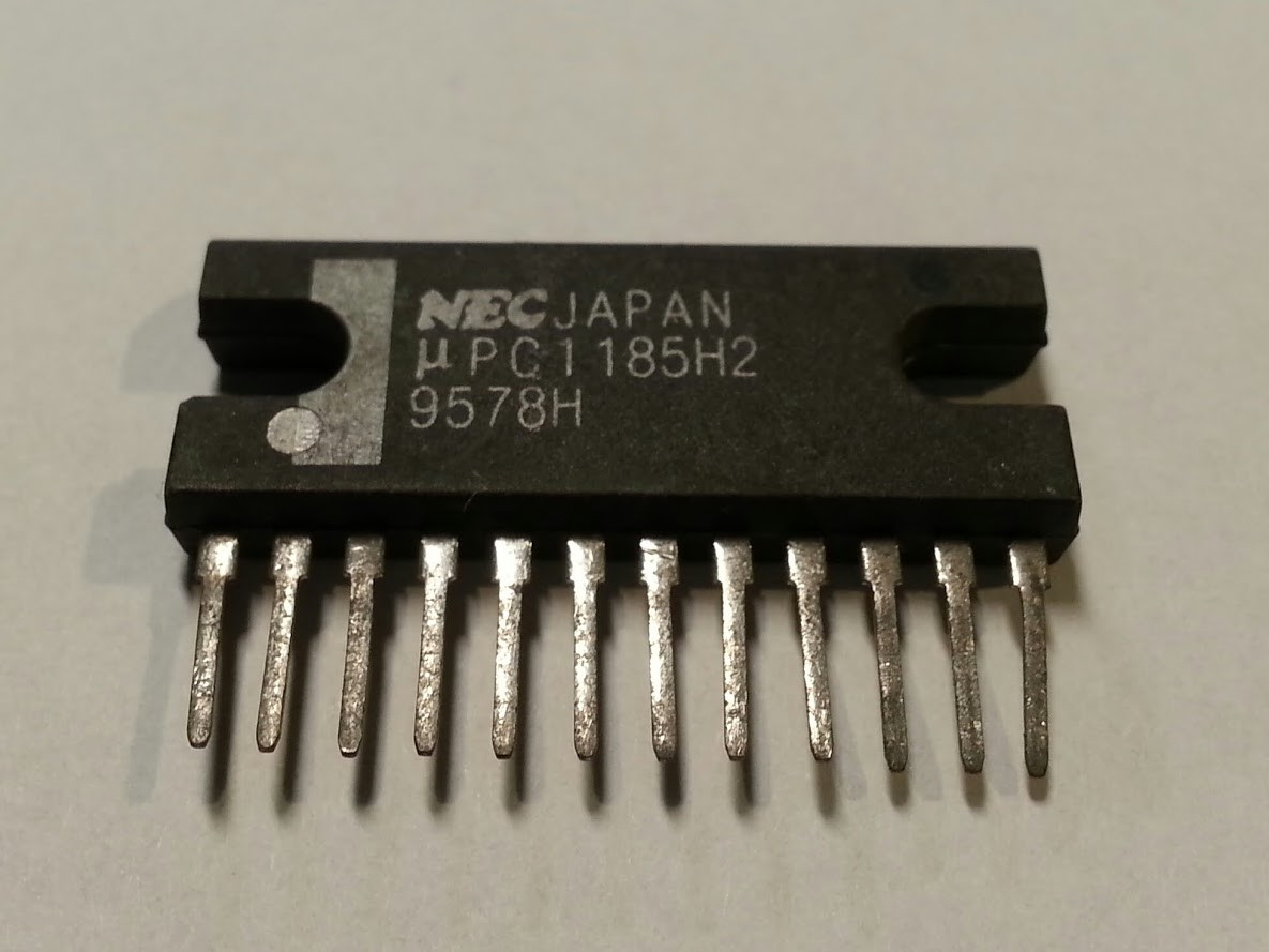 µPC1185H2 (µPC 1185 H2)L244 (NEC JAPAN) мікросхема регулятор напруги