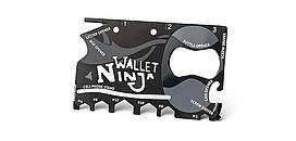Мультитул-кредитка Ninja Wallet 11 в 1
