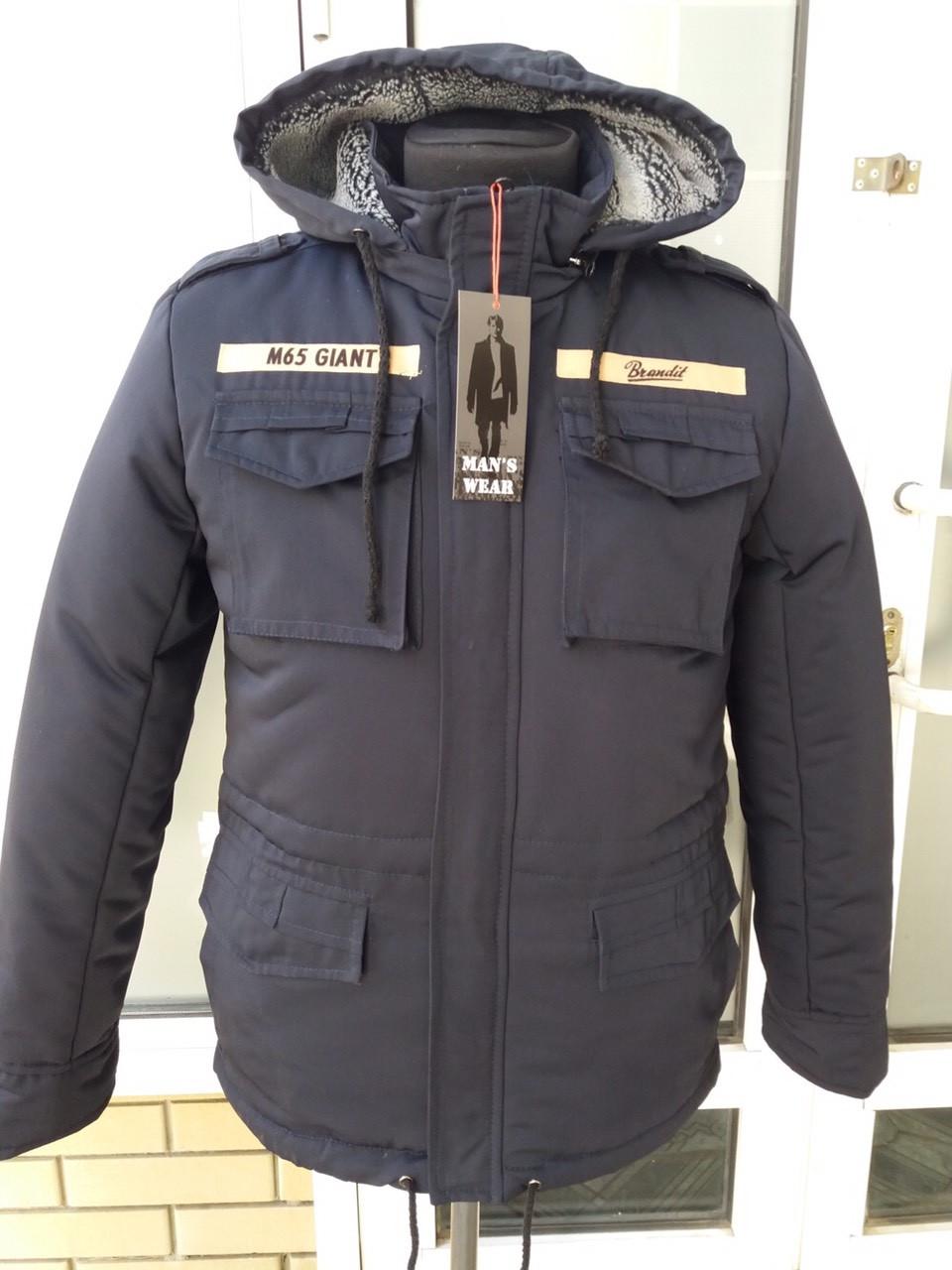 Мужская зимняя куртка в стиле милитари